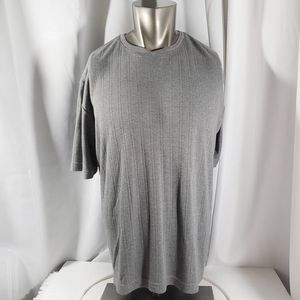 Brandini Ribbed Crew Neck T-Shirt Size XL